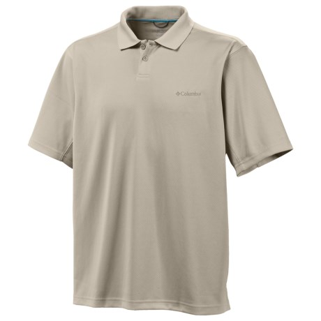 Columbia Sportswear Utilizer Polo Shirt - UPF 30, Short Sleeve (For Big and Tall Men)