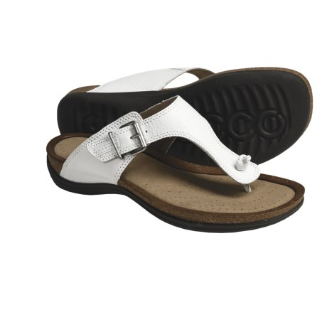 ECCO Passion Thong Sandals - Leather (For Women)