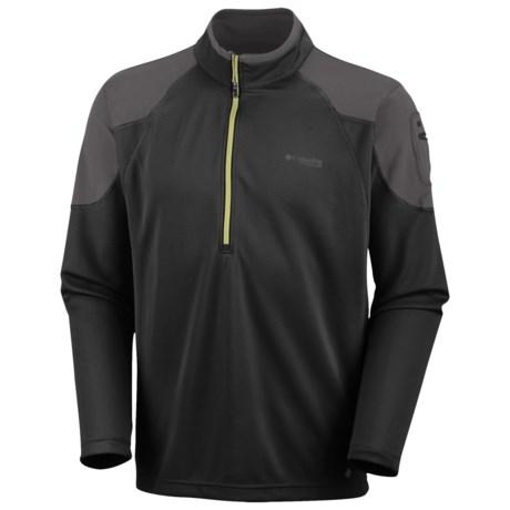Columbia Sportswear Fluid Run Shirt - UPF 30, Zip Neck, Long Sleeve (For Men)