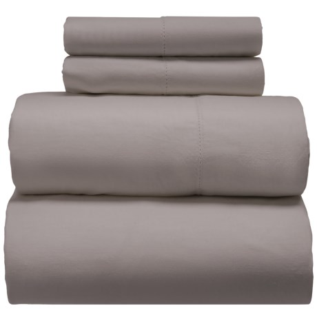 Melange Home Linen-Cotton Sheet Set - Queen