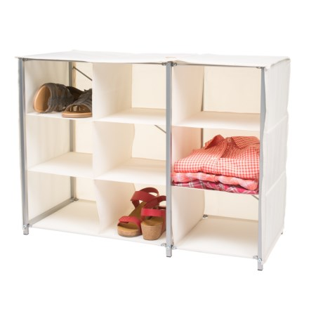 Whitmor 9-Section Collapsible Closet Shelves