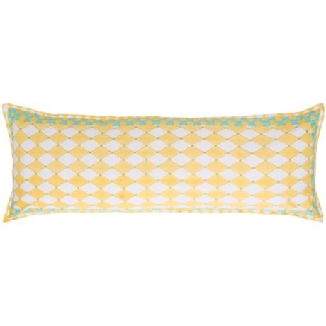 """Suchira Whimsey Bolster Pillow - 16x48"""""""
