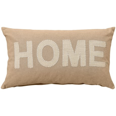 """Devi Designs Home Throw Pillow - 14x20"""", Feathers"""