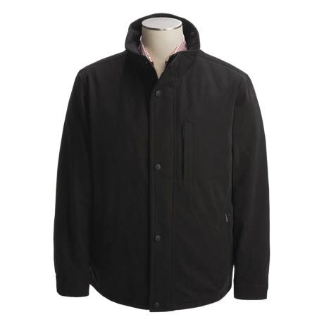 Rainforest Brushed Microsuede Bomber Jacket - Removable Liner (For Men)