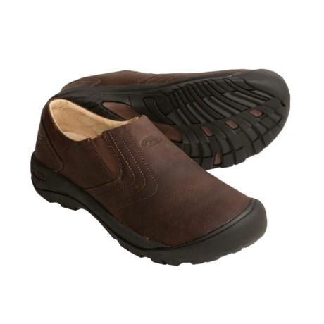 Keen Alki Slip-On Shoes - Leather (For Men)