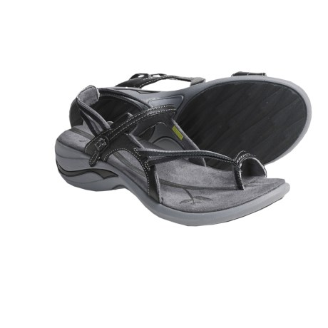 Ahnu Pacheco Leather Webbing Sandals (For Women)