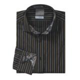 Thomas Dean Cotton Sport Shirt - Spread Collar, Long Sleeve (For Men)