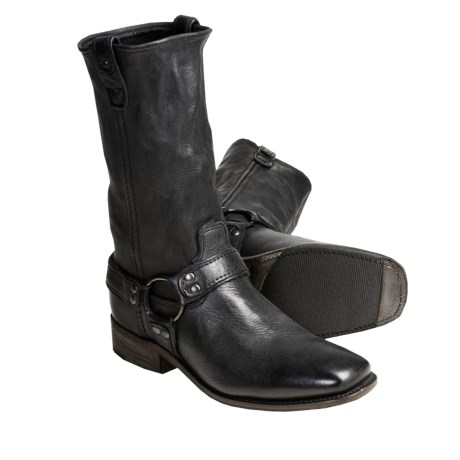 Vintage Vern Fontera Boots - Leather Harness (For Men)