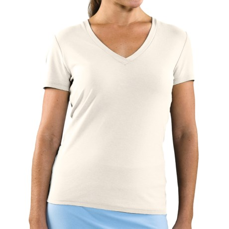 Toad&Co Horny Toad Tyler Shirt - Organic Cotton, Short Sleeve (For Women)