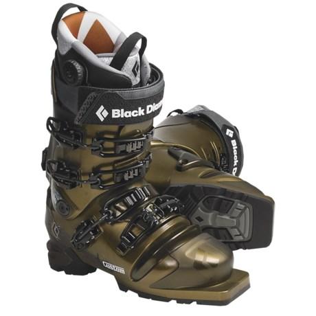 Black Diamond Equipment Custom Telemark Ski Boots - 75mm (For Men and Women)