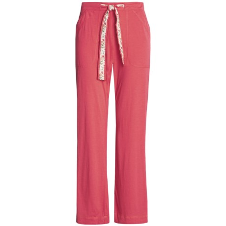 Arianne Drawstring Pants - Cotton-Modal Knit (For Women)