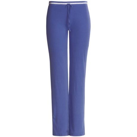 Arianne Pima Cotton Knit Pants (For Women)