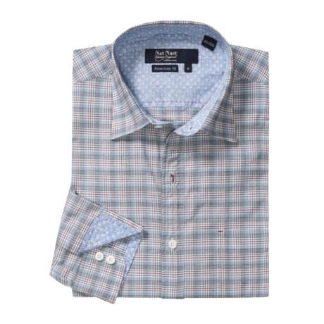 Nat Nast Al Dente Plaid Sport Shirt - American Fit, Long Sleeve (For Men)