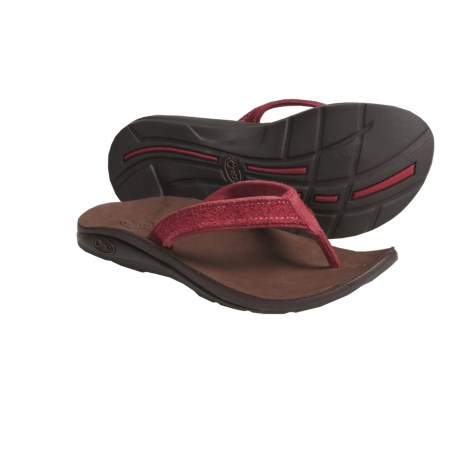 Chaco Flippa EcoTread Thong Sandals - Flip-Flops, Leather, Recycled Materials (For Women)
