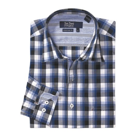 Nat Nast American Fit Plaid Sport Shirt - Long Sleeve (For Men)