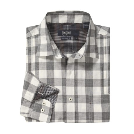 Nat Nast Oh Give Me a Home Plaid Sport Shirt - American Fit, Long Sleeve (For Men)