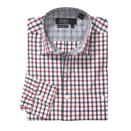 Nat Nast Checkmate Sport Shirt - Long Sleeve (For Men)