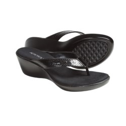 Aerosoles Wide Eyes Wedge Thong Sandals (For Women)