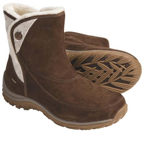 Patagonia Attlee Snap Winter Boots - Waterproof, Recycled Materials (For Women)