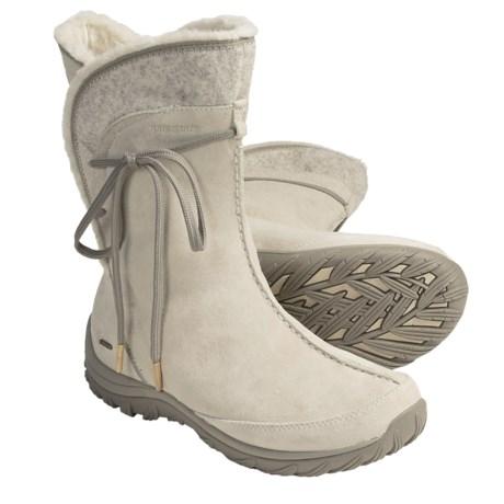 Patagonia Attlee Tie Winter Boots - Waterproof (For Women)