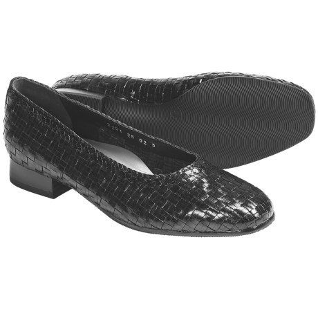 Ara Babs Woven Leather Pumps (For Women)
