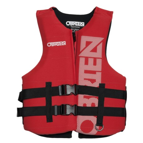 O'Brien Traditional Neoprene PFD Life Jacket - USCG Approved, Type III (For Men)