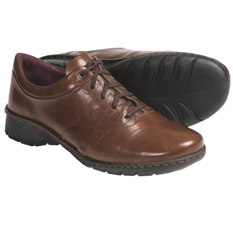 Josef Seibel Alexis Shoes - Crinkled Leather, Lace-Ups (For Women)