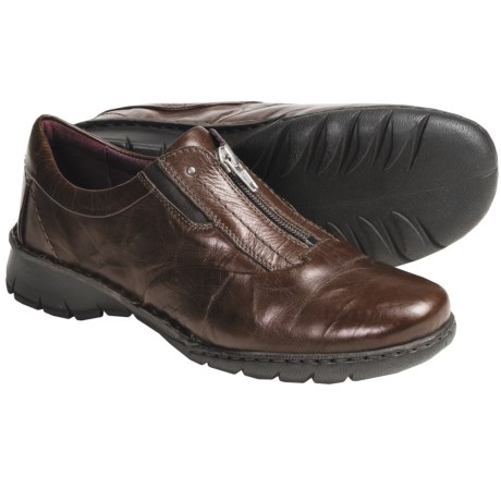 Josef Seibel Annie Shoes - Leather, Zip Front (For Women)