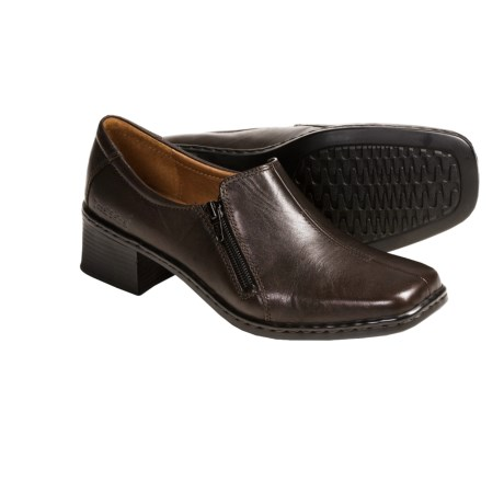 Josef Seibel Bridgit Leather Shoes - Side Zip, Slip-Ons (For Women)