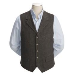 Kroon Rose Lapeled Vest - Wool Rich (For Men)