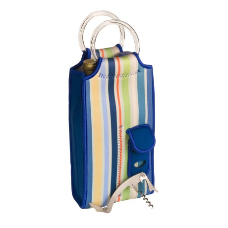 Picnic Time Brunello Bottle Carrier - Neoprene, 2-Bottle