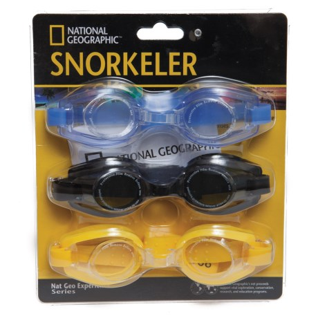 National Geographic Z88 Swimming Goggles - 3-Pack