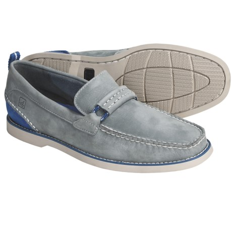 Sperry Top-Sider Seaside Overlay Loafer Shoes - Leather (For Men)