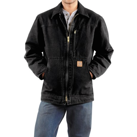 Carhartt Sandstone Ridge Coat - Sherpa Pile Lining (For Men)