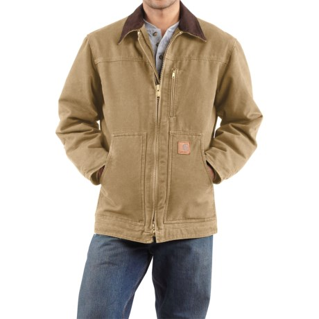 Carhartt Sandstone Ridge Coat - Sherpa Pile, Factory Seconds (For Tall Men)