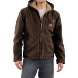 Carhartt Sandstone Sierra Jacket - Sherpa Pile, Factory Seconds (For Men)