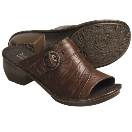 Josef Seibel Carly Shoes - Leather, Open Back (For Women)