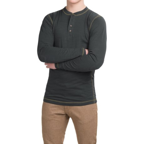 Dakota Grizzly Landon Slub Henley Shirt - Long Sleeve (For Men)