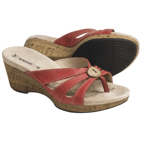 Romika Hawaii 03 Wedge Sandals - Leather (For Women)