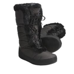 Sierra Designs Fireside Down Booties - Waterproof, 700 Fill Power, Lace-Ups (For Women)