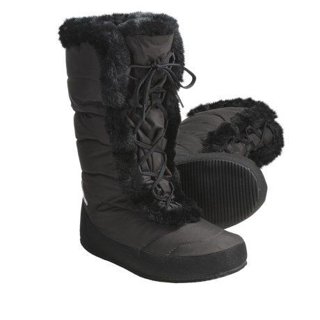 Sierra Designs Fireside Down Booties - Waterproof, 700 Fill Power, Lace-Ups (For Women)
