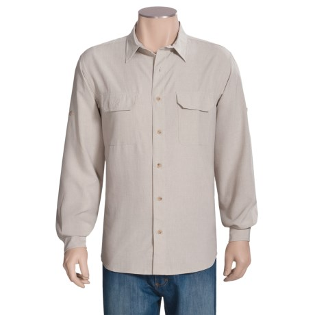 Woolrich Pleasant Spring Shirt - UPF 30+, Long Roll-Up Sleeve (For Men)