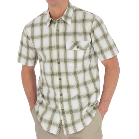 Royal Robbins Andale Plaid Shirt - Short Sleeve (For Men)