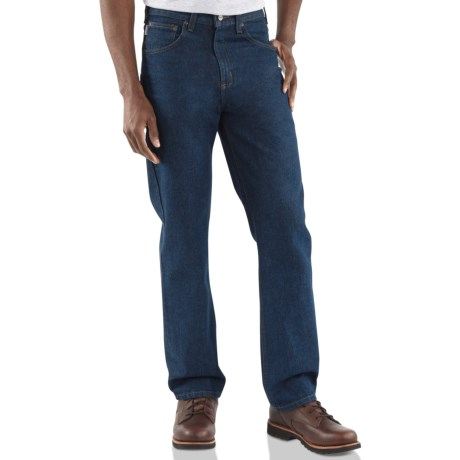 Carhartt Traditional Fit Prewash Jeans - Straight Leg (For Men)
