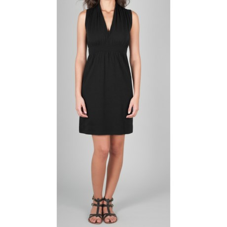 Lilla P Stretch Jersey Dress - Pima Cotton-Modal, Sleeveless (For Women)