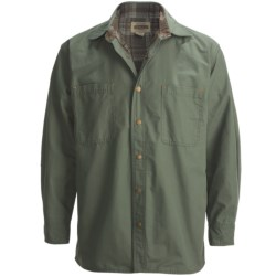 Cold Storage Ripstop Canvas Shirt Jacket (For Men)