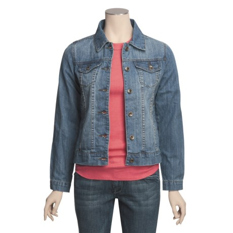 Relativity Jean Jacket (For Women)
