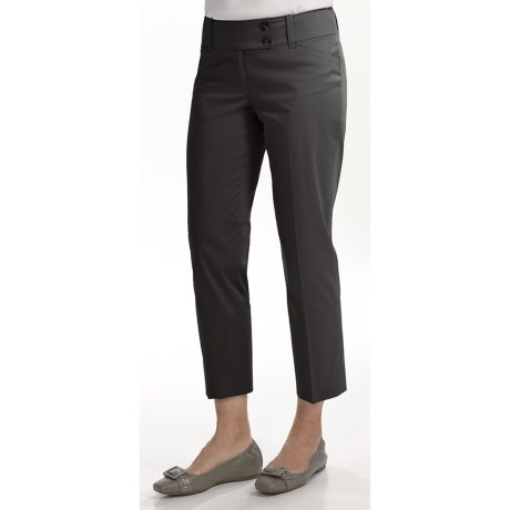 Specially made Stretch Cotton Crop Pants (For Women)