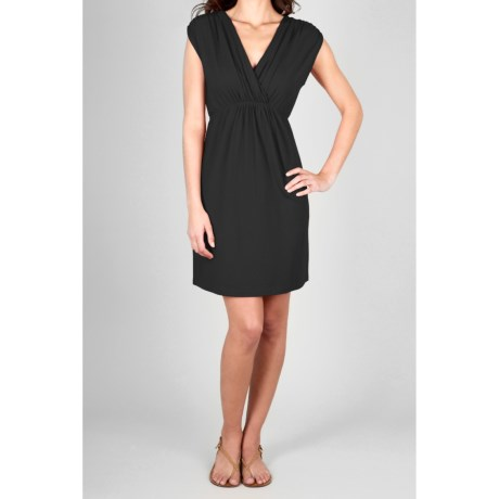 Lilla P Stretch Jersey Dress - Sleeveless (For Women)