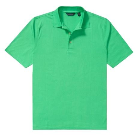 Scott Barber Jersey Solid Polo Shirt - Pima Cotton, Short Sleeve (For Men)